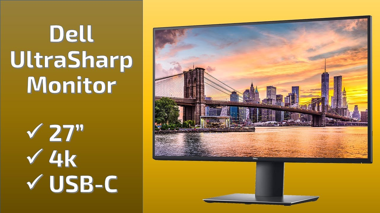 image from Unboxing the 27-inch 4k USB C Dell U2720Q Monitor