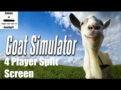 Goat Simulator With 4 Player Split Screen (Xbox One)