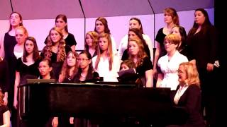 Nativity Carol during CHS Winter Concert 2012 arr. by John Rutter