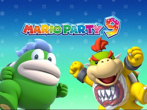Spike And Bowser Jr Playable In Mario Party 9 Youtube