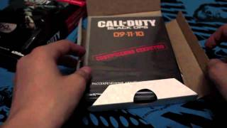 Call of Duty:Black Ops Pre-order unboxing HD