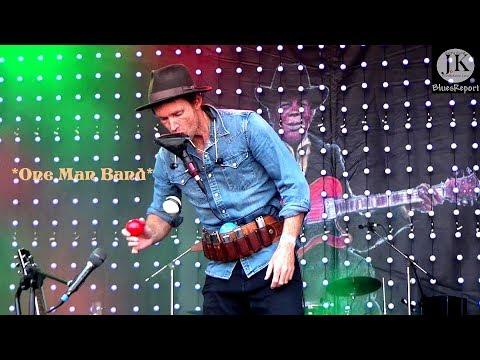 Juzzie Smith - Introducing his One Man Band / 27.Grolsch Bluesfestival Schöppingen Germany 2018