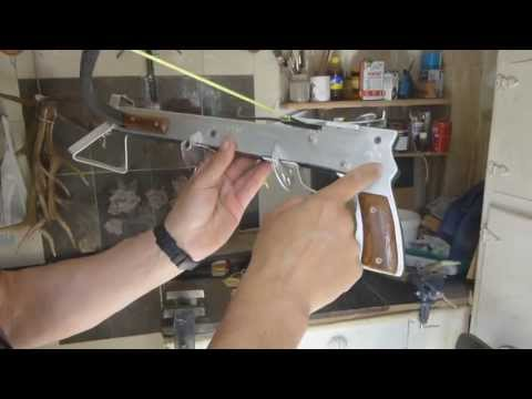 PISTOLA BALLESTA......TUTORIAL.