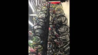 Destroying a 1,997$ bike in sports authority