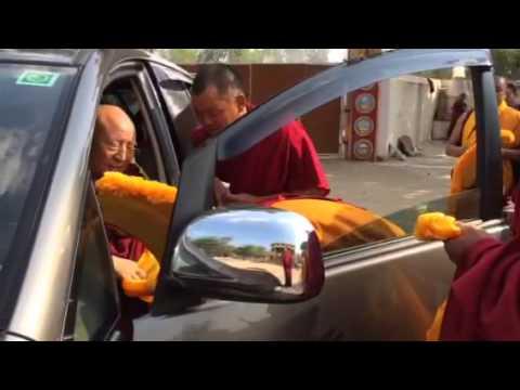 Ds high lama   tibetan. in india 2015