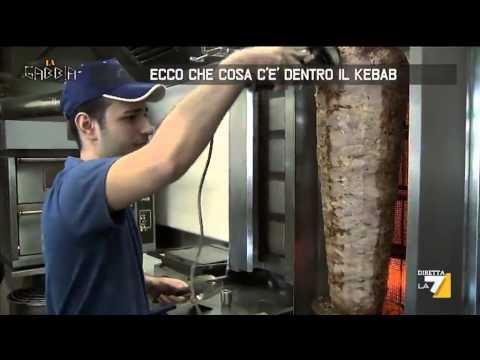 Ecco che cosa c'è dentro il kebab