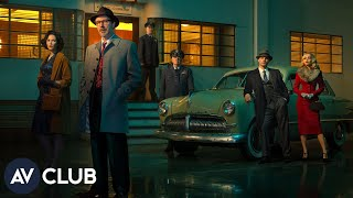 We talk to the cast of the History Channel's new drama, Project Blue Book