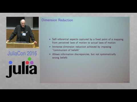 JuliaCon 2016 (Keynote)   Quantitative Macroeconomics in Julia   Nobel Laureate Tom Sargent