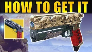 Destiny 2: How to Get the RAT KING Exotic Sidearm! | Complete Quest Guide!