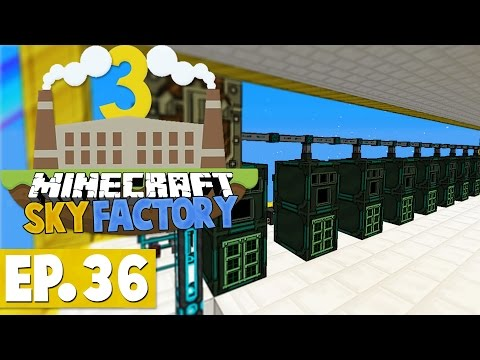 Minecraft Sky Factory 3 - Nik's Brainfarts! #36 [Modded Skyblock]