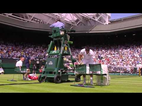 Djokovic leads Centre Court farewell to Jarkko Nieminen