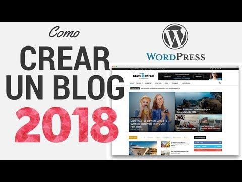 Cómo Hacer un Sitio Web de WordPress 2018 - Paso a Paso Para ...