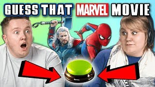 GUESS THAT MARVEL MOVIE CHALLENGE | FBE Staff Reacts