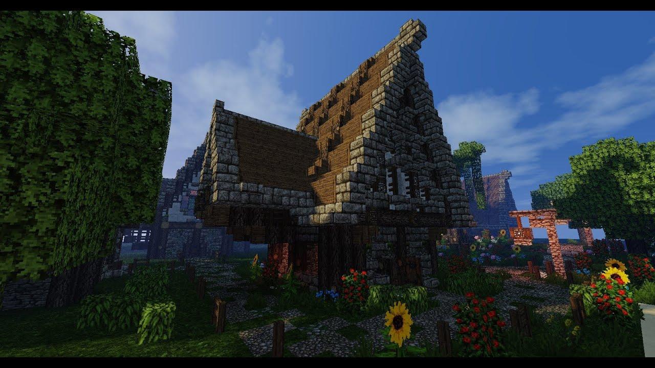 Maison Medieval Minecraft Simple