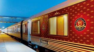 Maharajas Express Standing On Sawai Madhopur Railway Station