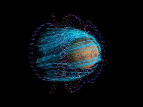 First Map of Mars Electric Currents - NASA Goddard