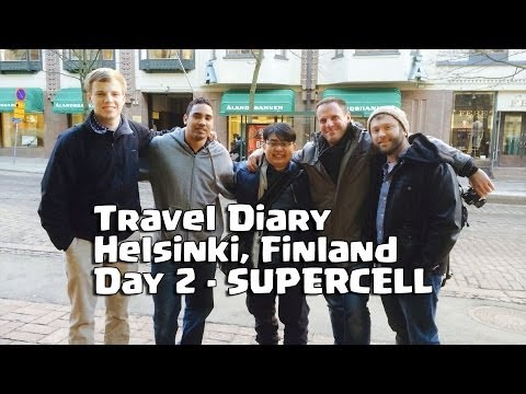 Travel Diary Day 2 - SUPERCELL at Helsinki, Finland