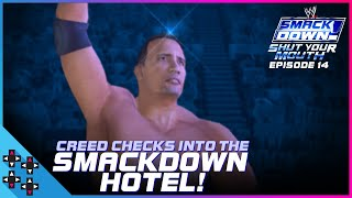 THE ROCK checks Austin into THE SMACKDOWN HOTEL! - WWE SmackDown! Shut Your Mouth #14