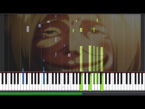 Shingeki no Kyojin - attack音D (Part 2) - (Piano Tutorial)