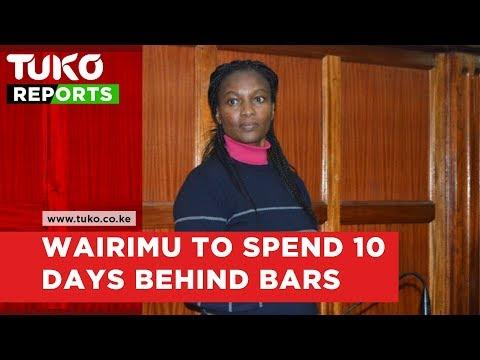 Cohen's murder case: Sarah Wairimu's day in court | Tuko TV