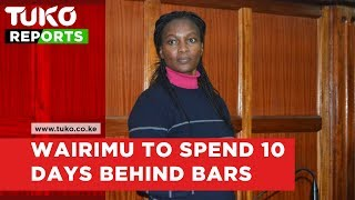Cohen's murder case: Sarah Wairimu's day in court | Tuko TV
