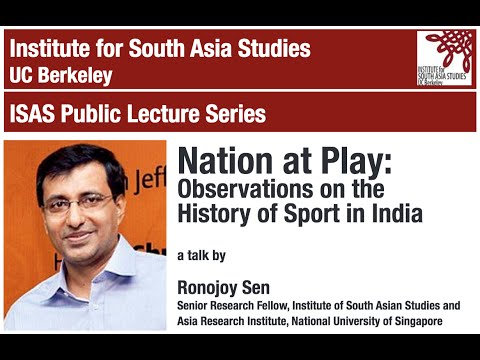 Nation at Play - Observations on the History of Sport in India