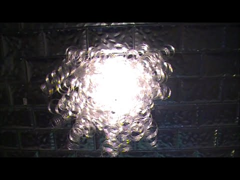 DIY Recycled Plastic Water Bottle Chandelier YouTube – Plastic Bottle Chandelier
