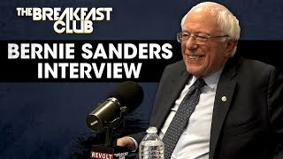 DJ Envy SMEARS Bernie Sanders To His Face On The Breakfast Club