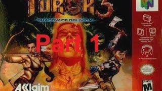 n64 turok 3 shadow of oblivion walkthrough прохождение part 1