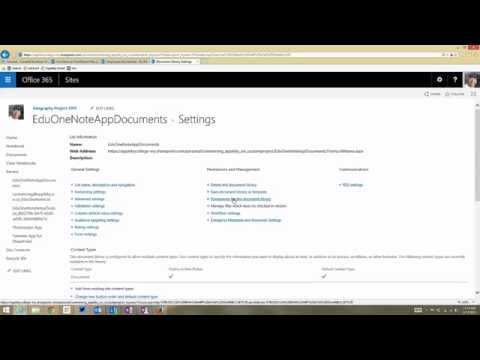 Hacking Permissions on the OneNote Notebook Creator