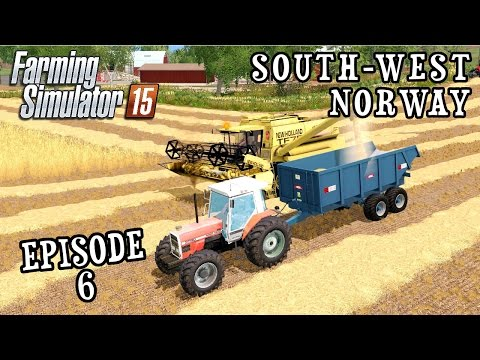 Let's Play Farming Simulator 2015 | South West Norway | Episode 6