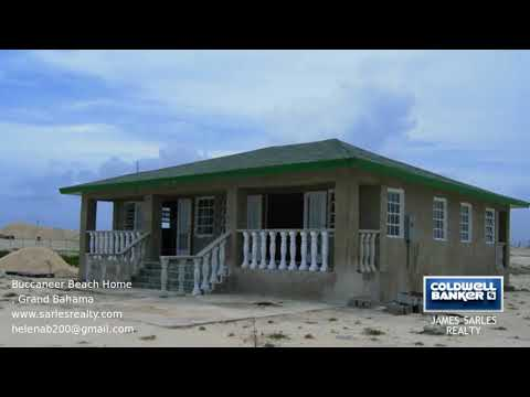Bahamas Property - Buccaneer Beach Home