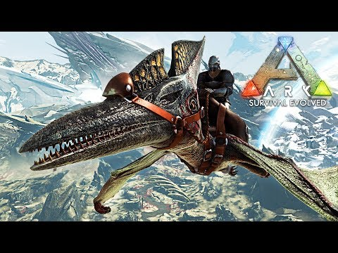 ARK: Survival Evolved - FLYING MOUNTS & EXPLORING!! (ARK Extinction Gameplay)