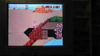 Sunset Riders Super Nintendo SNES Gameplay
