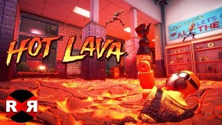 Hot Lava (by KLEI) - iOS (Apple Arcade) Gameplay