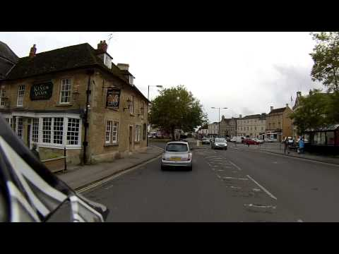 A Ride Through Melksham, Wiltshire
