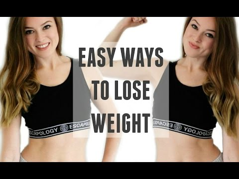 10 EASY HEALTHY WAYS TO LOSE WEIGHT | WEIGHT LOSS TIPS