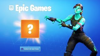 YOU Can get a RARE GIFT in Fortnite RIGHT NOW...