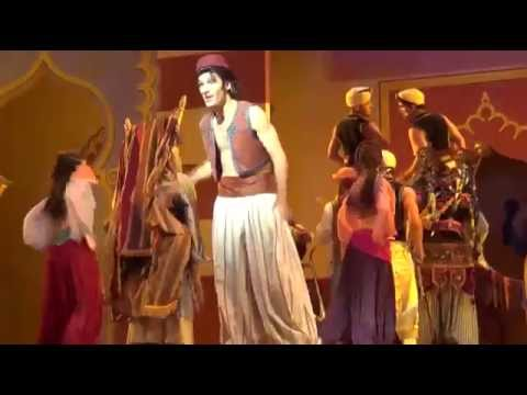 Disneyland Resort - Aladdin A Musical Spectacular (HD) 4-19-2014