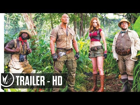Jumanji: Welcome to the Jungle  Official Trailer #1 (2017) Dwayne Johnson -- Regal Cinemas [HD]
