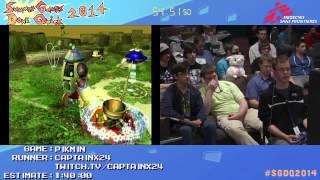 Summer Games Done Quick 2014 - Part 10 - Pikmin