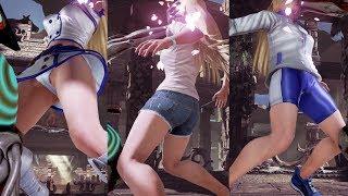 色々なコスチュームのリリに連続で御霊返し※視点変更+拡大+スロー再生編集【鉄拳7リョナ】 Tekken Lili Ryona Yoshimitsu