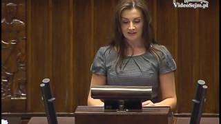 Joanna Frydrych - wystąpienie z 4 października 2016 r.