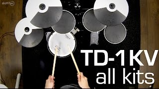 drum-tec presents: Playing all kits of the Roland TD-1KV electronic drum sound module