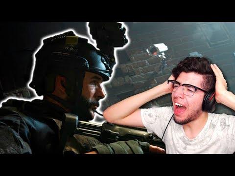 REACCIÓN TRAILER Modern Warfare | Call of Duty