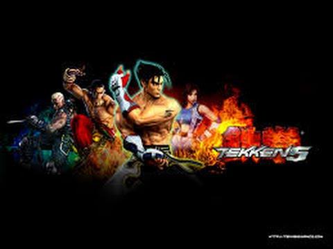 Tekken 5 Game full movie (Mishima saga)