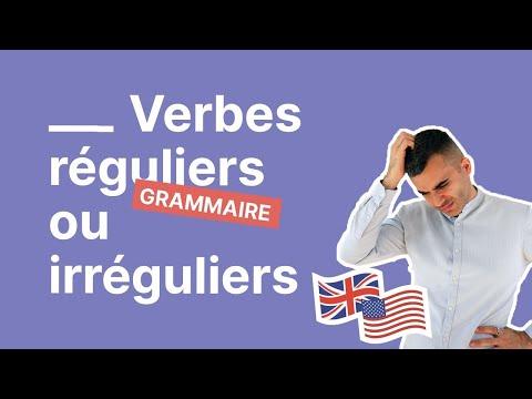 Quelle Est La Difference Entre Un Verbe Regulier Et Un Verbe Irregulier Youtube