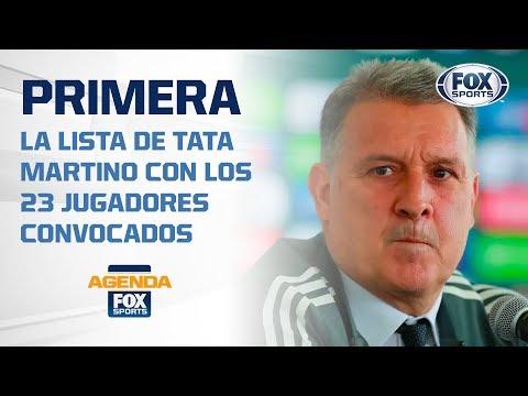 SELECCI�N MEXICANA: �As� ser� la primera lista de TATA!