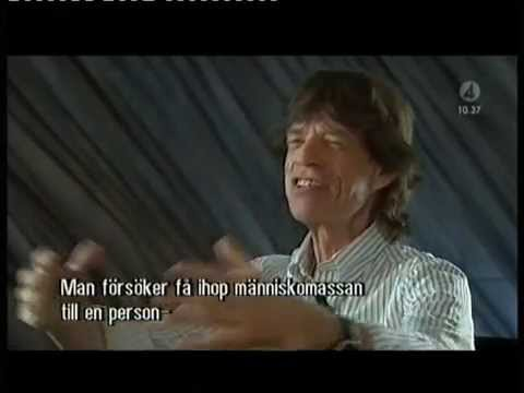 Mick Jagger -Interview (The Very Best of Mick Jagger CD)