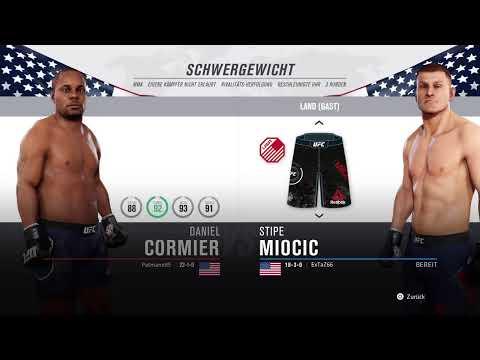 UFC3:Weil Daniel Sand in der Muschi hat muss ich gegen